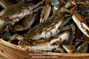 Food Photography Blue Crab