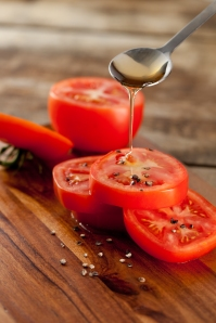 Food Photography for Wholesum Harvest Tomato and Honey
