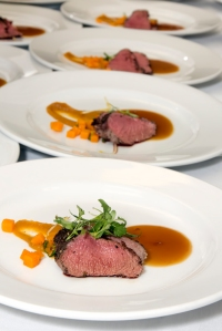 staging the venison