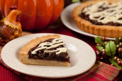Autumn Pumpkin Cookie Pie
