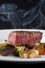 Steak and smoke