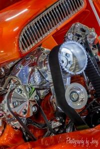 Orange and engine small