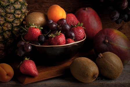 Bowl of Fruit Still Life