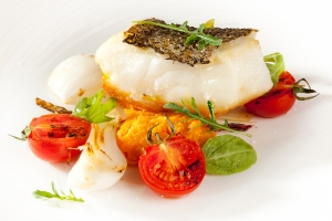 Sea Bass Food Photography