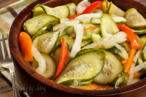 Cucumber Salad Food Photography